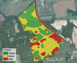 Mapy zarządzania polem uprawnym